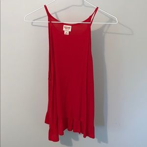 Mossimo Supply Co red tank top
